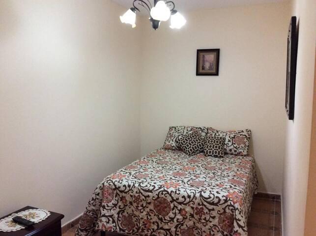 Habitación No 2 (Una cama doble + 1 sofá -cama).