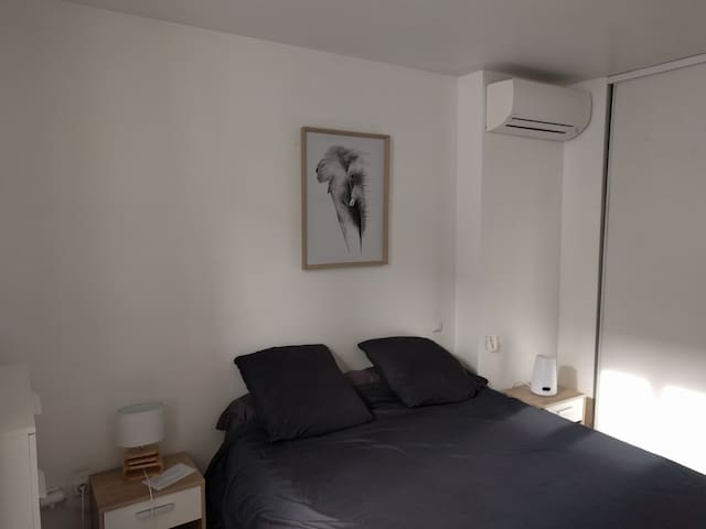 Two roomed appartement, 50 m²