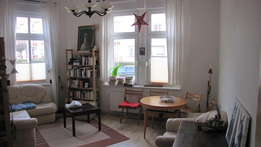 Zentru(SENSITIVE CONTENTS HIDDEN)ahe, ruhige Wohnung! - Magdeburg - Lägenhet