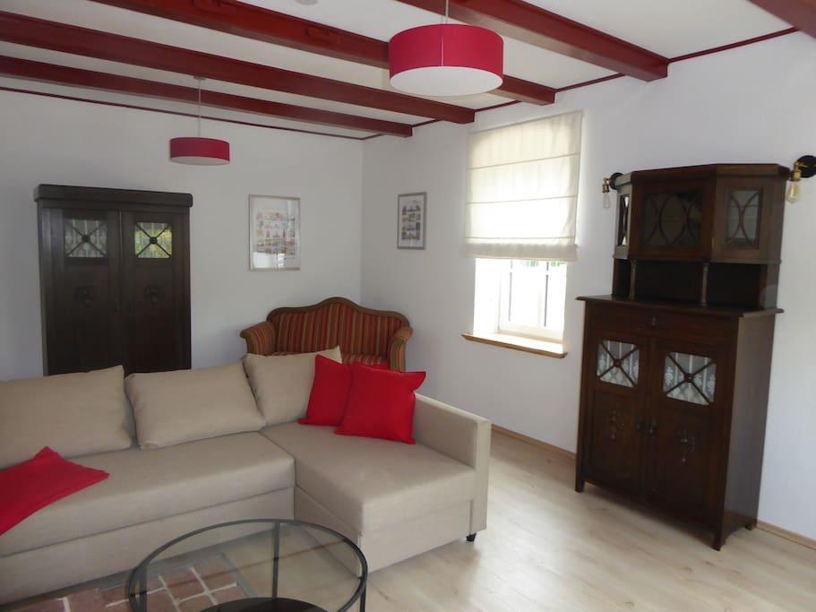 Ferienwohnung Elise - Wohnzimmer