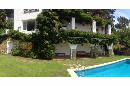 Villa with sea view - Caldes d'Estrac