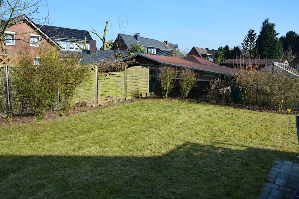 Garten und Terrasse zur Mitbenutzung