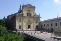 Chiesta di San Francesco vista dal balcone. open every day