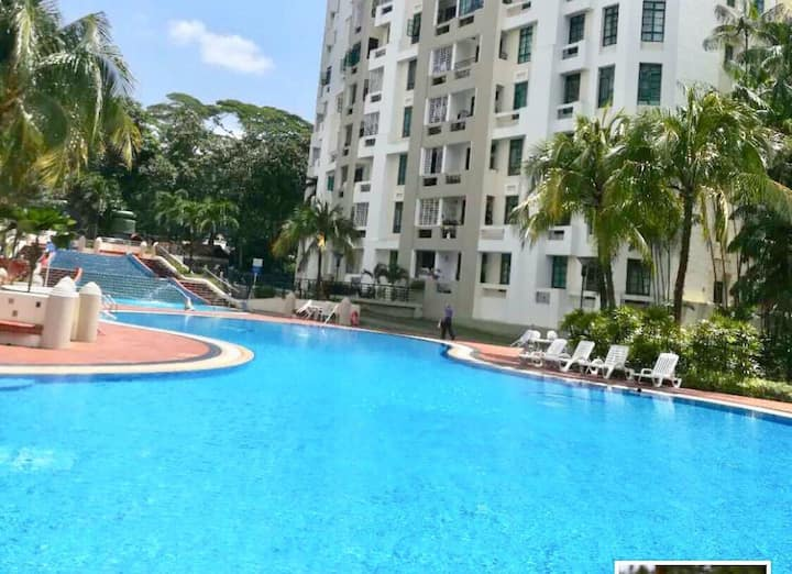 Clean and cosy condominium near Hillview Station