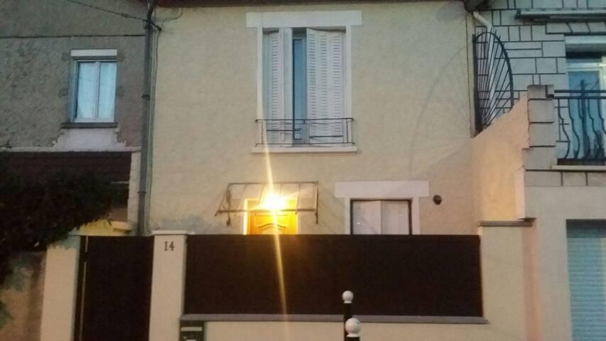 Maison à proximité de l aéroport d Orly - Ablon-sur-Seine - บ้าน