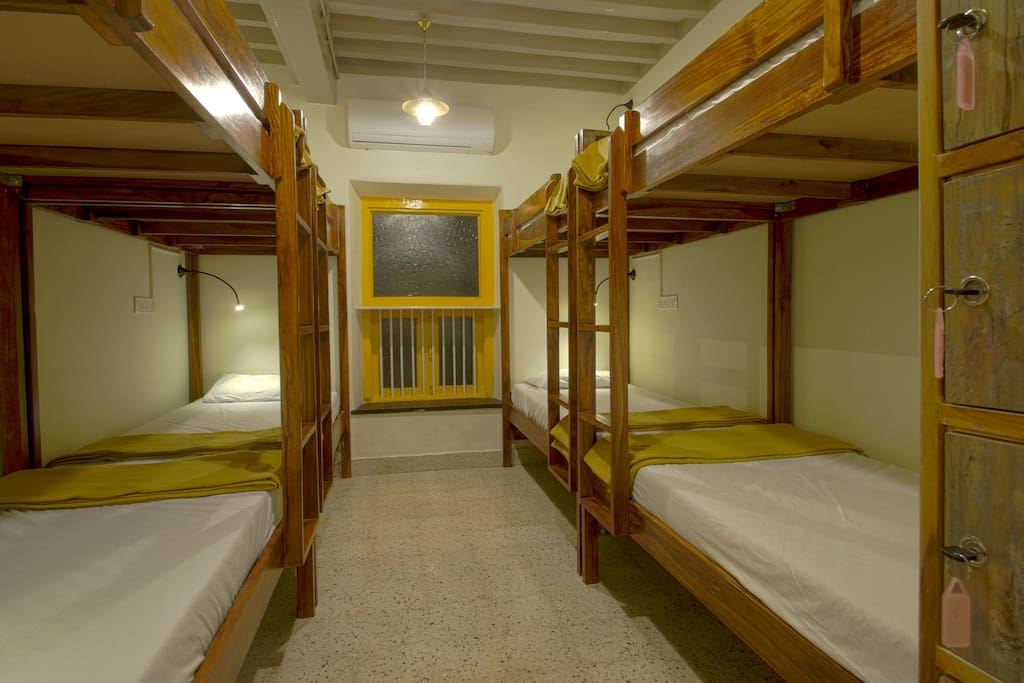 Female Dorm with 8 beds