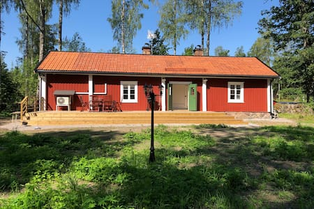 Cottage   Idyllic location   Porch   Grill