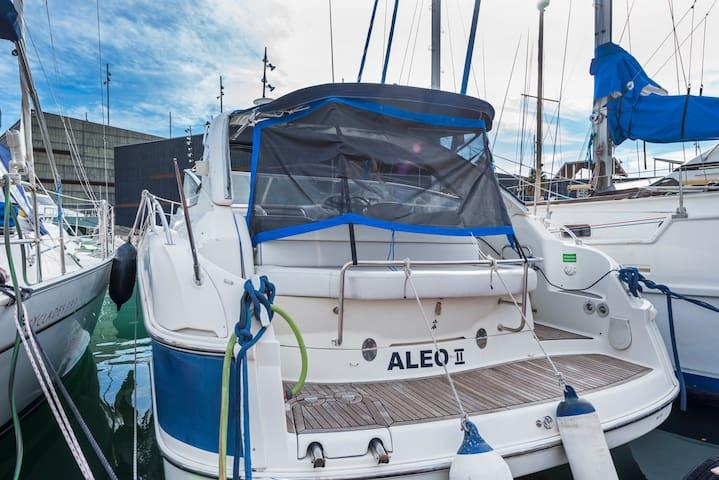 Acogedor motor yacht en Port Forum de Barcelona