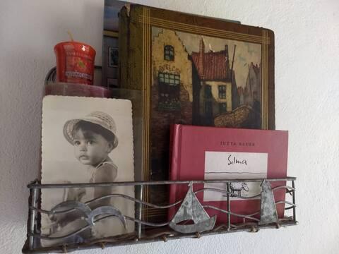 Casa da Selma / Ipoema MG. Café da manhã. Quarto 1