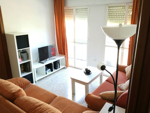 Acogder, baño privado, Wifi. A 5 min de Sevilla - Camas - Appartement