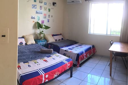 Family room  two beds 17B家庭房 - Tamuning - Wohnung