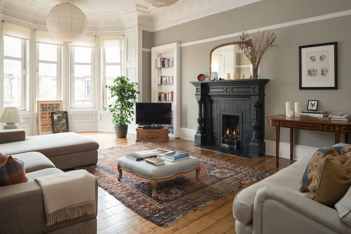 Lovely flat in the heart of Hyndland