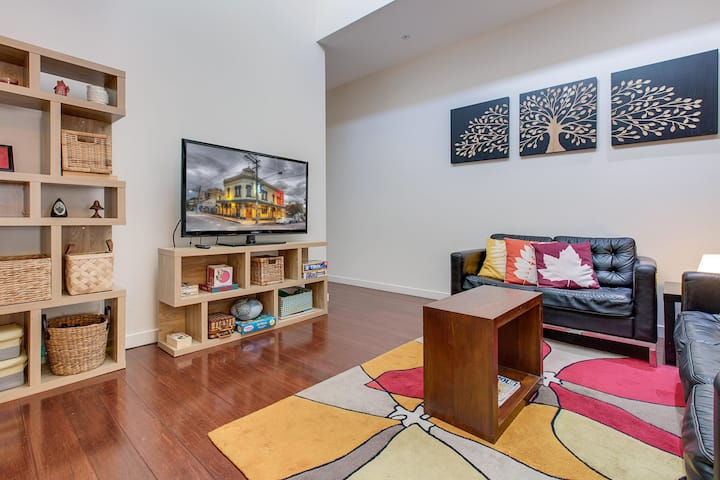 Bright and airy home tucked away in funky Newtown