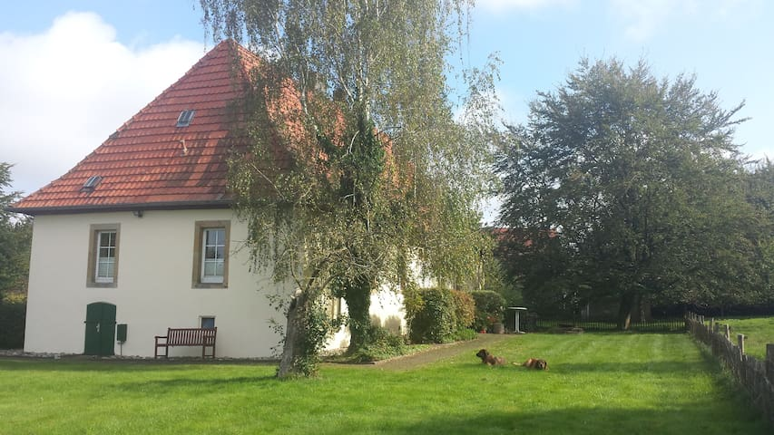 Cosy room in countryside cottage in Hagen a. T.W. - Hagen am Teutoburger Wald - Casa
