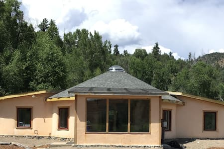 Eco Strawbale Home on Two Private Acres