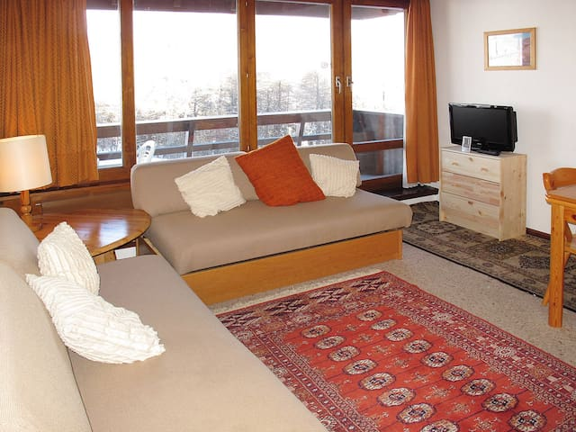 40 m² Holiday apartment in Thyon - Thyon 2000 - Huoneisto