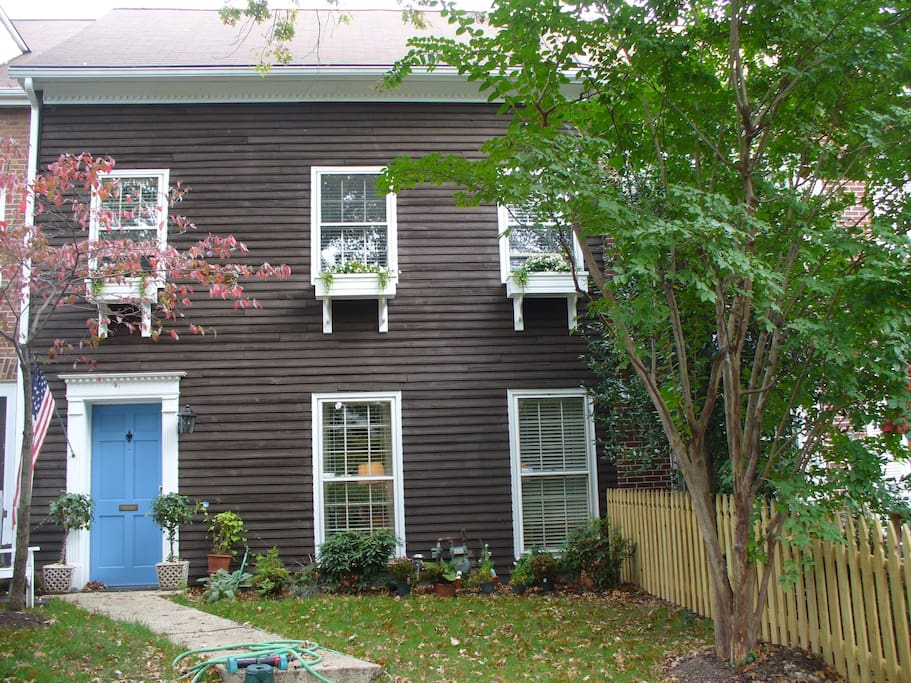 lovely house on quiet residential street in historic district