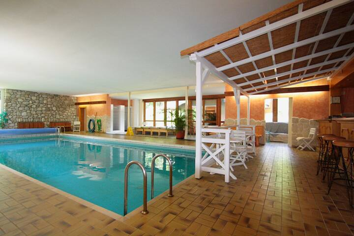 Modern appartement in Ruhpolding met zwembad