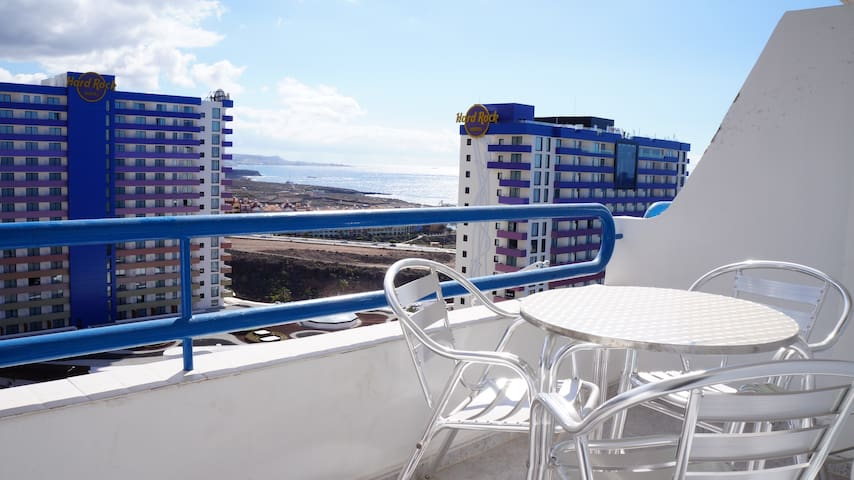 Apartment for 4 people, Wifi, pool, 2 min beach - Adeje - Apartamento
