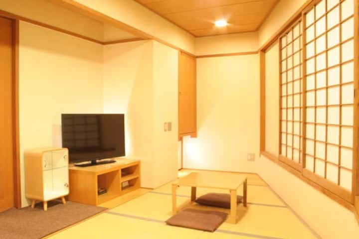 Japanese TATAMI Room Castle View