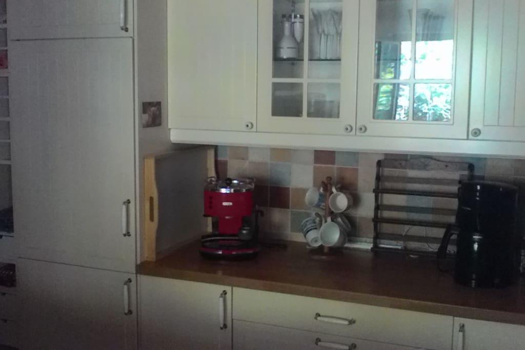 Küche - Kaffemaschine, Espressomaschine