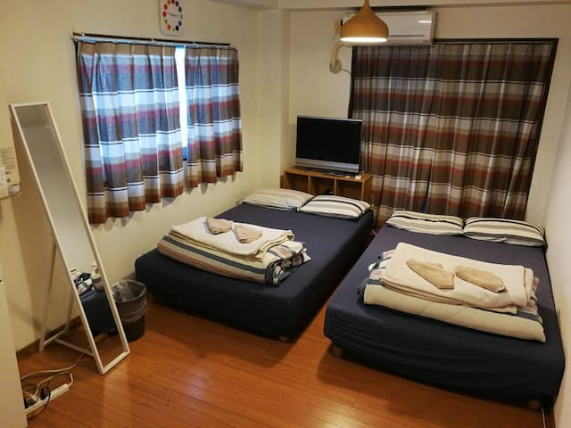 New Great Access Shinjuku Cozy Room301 Max4pp