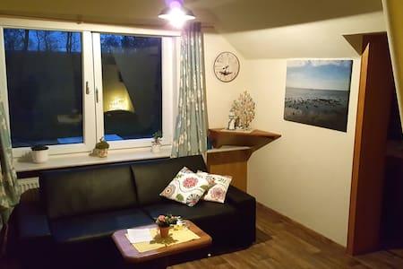 Wohnung in Bauernhaus, Strandnah - Jade