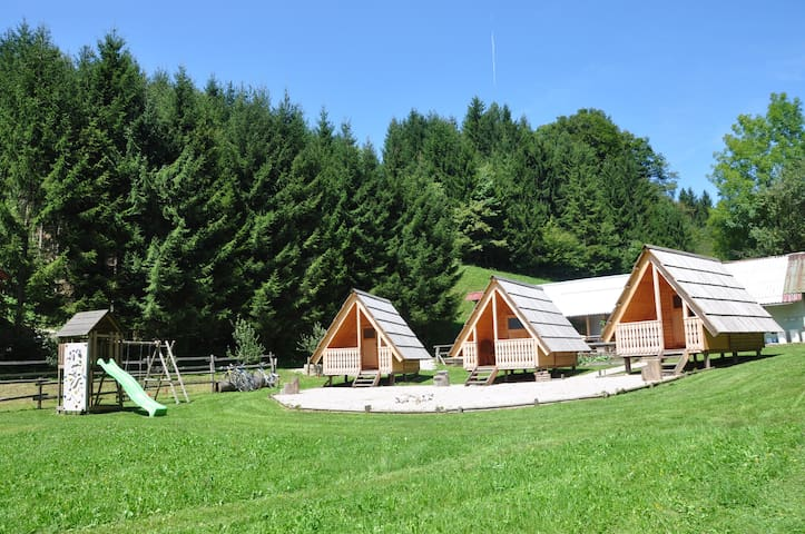 Wooden Cabin LARA