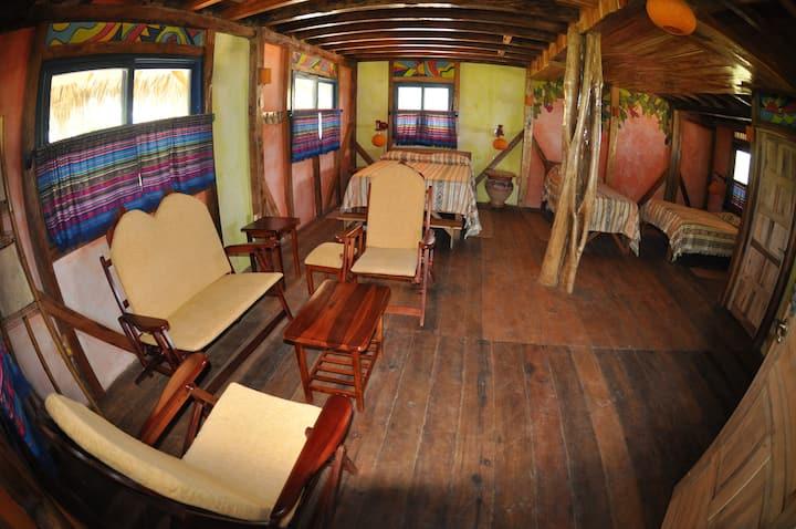 Azuluna Ecolodge: Cabaña Familiar Superior