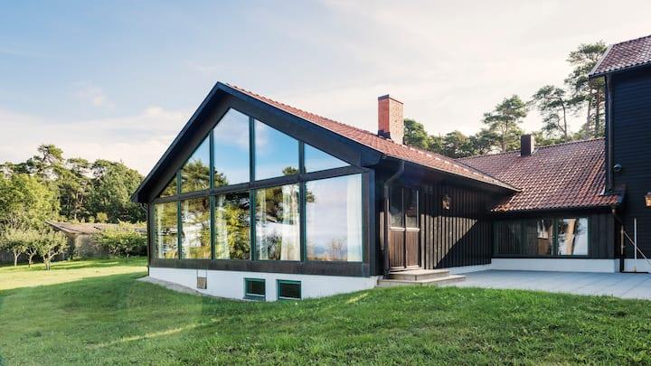 Villa Salthamn vid havet 1 mil norr om Visby