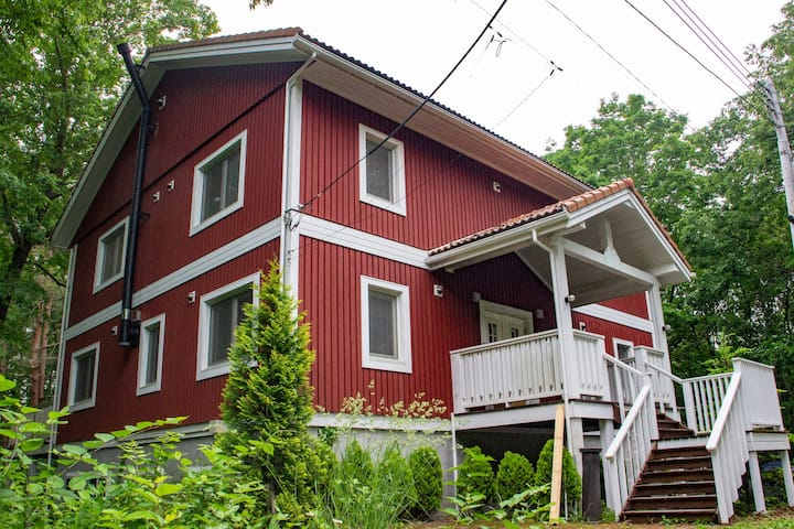 【1日1組さま限定】あったか暖炉つきスウェーデンハウス 隠れ家 和華