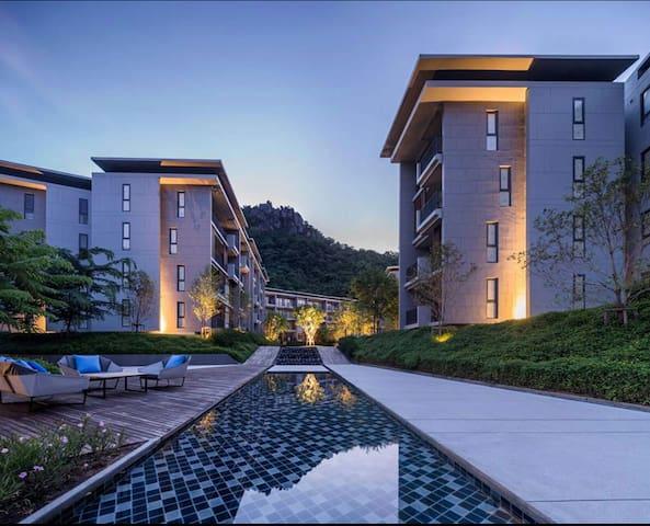 2BR Luxury Condo 23 Degree Khao Yai - Phaya Yen - Lejlighed