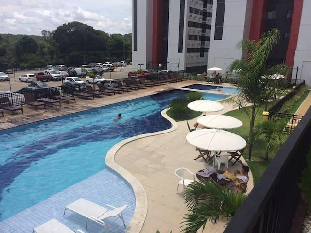Apartamento em condomínio vertical - João Pessoa - Leilighet