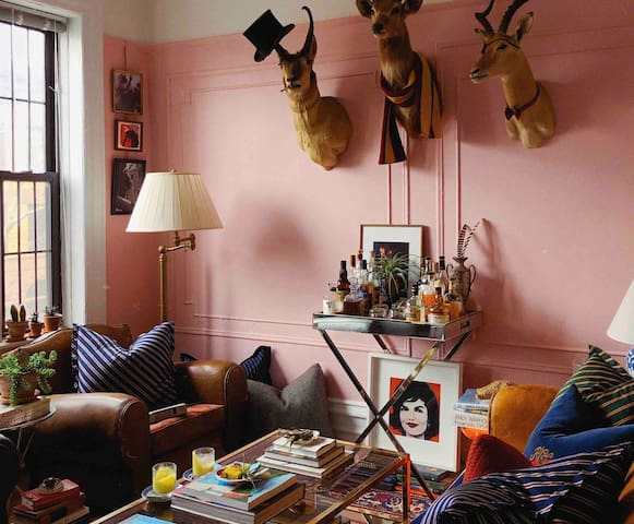 Park Slope Bedroom in Eccentric New York Apartment