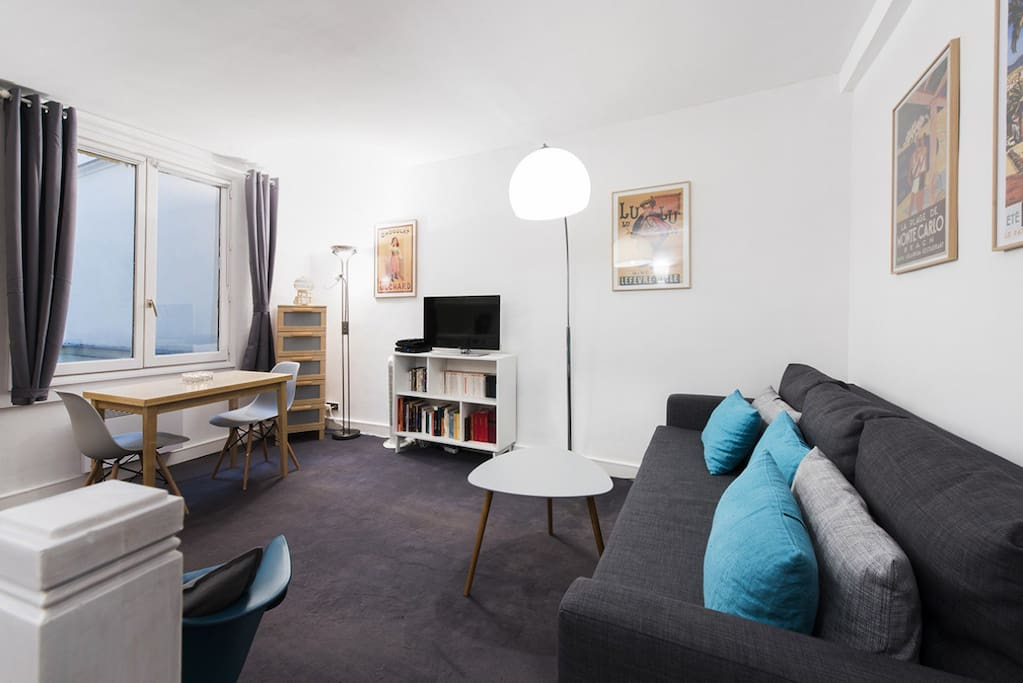 Charming 1 Bedroom duplex in the heart of Paris