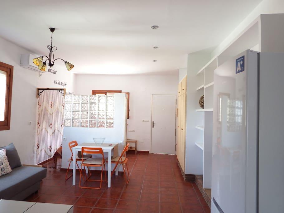 Loft 34 metros cuadrados ubicado en un entorno rural, a dos kilometros de la playa.