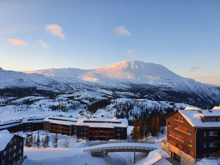 Ny fantastisk flott leilighet Gaustatoppen Lodge
