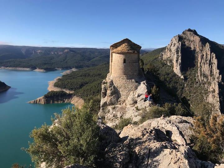 Cal Perubí en la Vall d'Àger