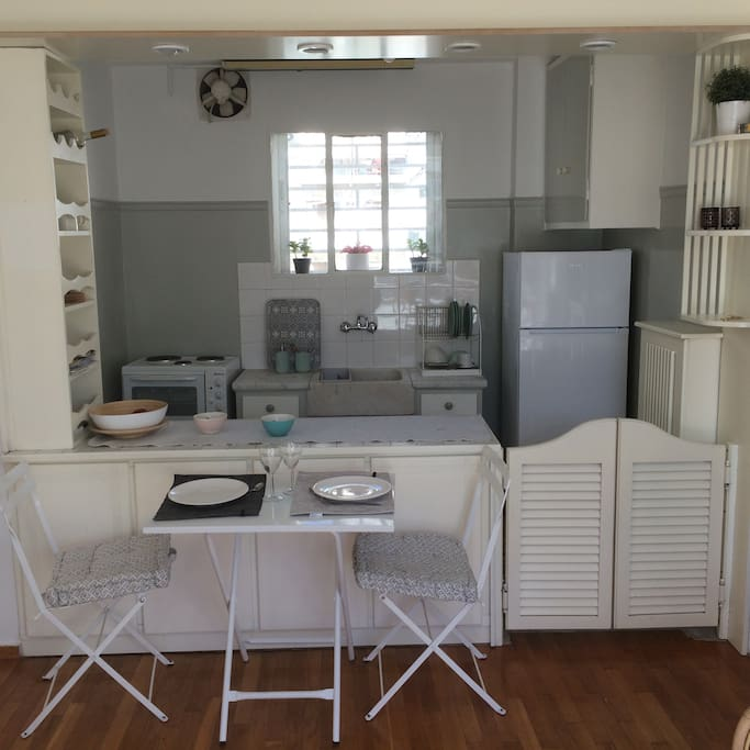 Studio and Kitchen