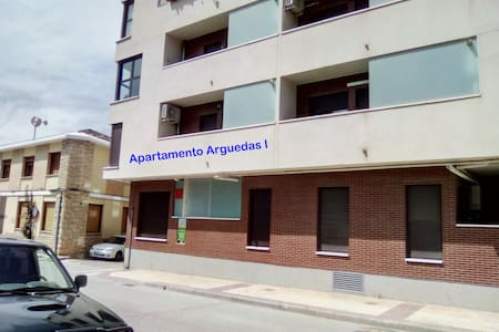 Apartamento Arguedas I. WIFI y parking gratuitos.