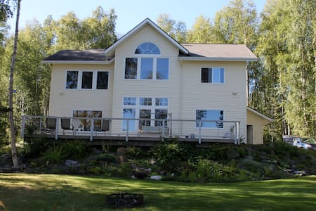 Alaska LAKEFRONT BNB *4 Rooms/Sleep 1-8 - Wasilla - Szoba reggelivel