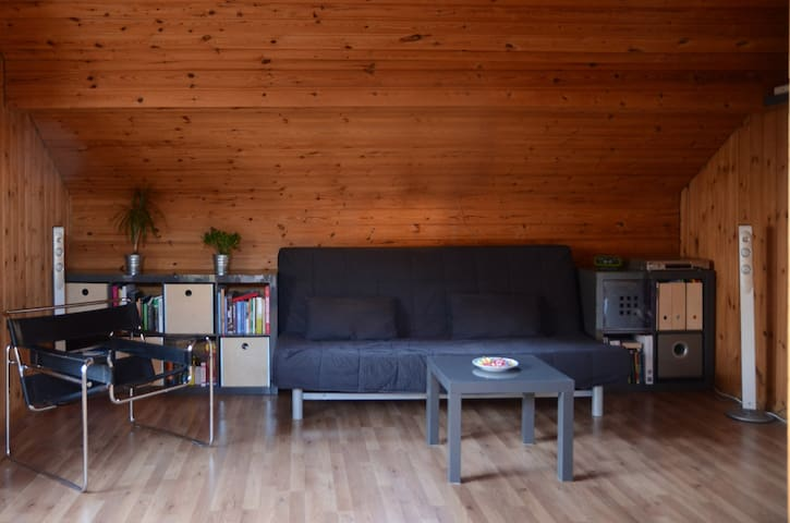 Sofa in a quiet living room - Chur - Leilighet