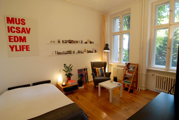 Cozy room in Neukölln, Weserstrasse - Berlin - Apartment