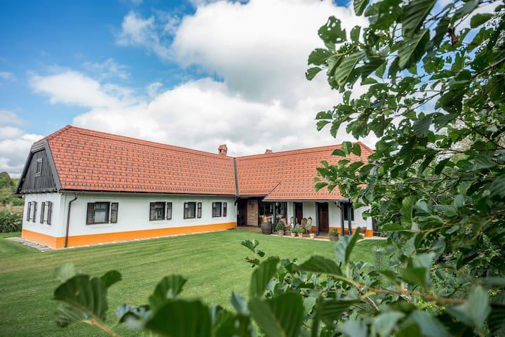 Peaceful getaway in a cozy home in Goričko region