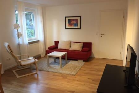 Moderne Zwei-Zimmer-Wohnung mit Blick ins Grüne - Merzhausen - Appartamento