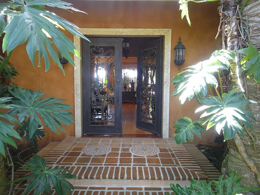 Entrance to our home.