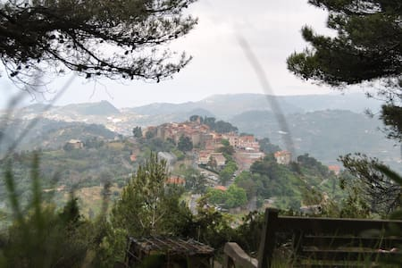Panoramic Villa in Seborga, countryside Bordighera - Seborga - Willa