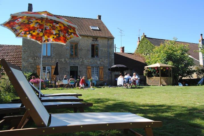 slapen bij La Foire des Ducs (1) - Brinay - Bed & Breakfast