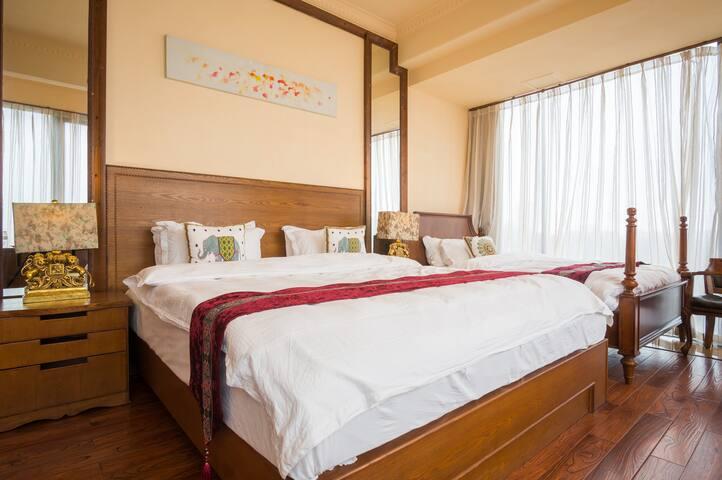 Xiamen Home 厦门4人1房2床1浴室-厦门北站-厦门机场-集美大学-徒步到海边8公里的沙滩