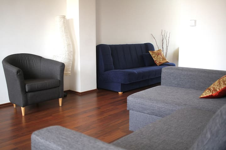 Central location with parking right in front - Bratislava - Apartamento